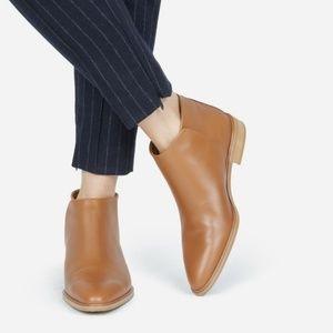 Everlane Modern Ankle Boot Cognac, Sz 6.5